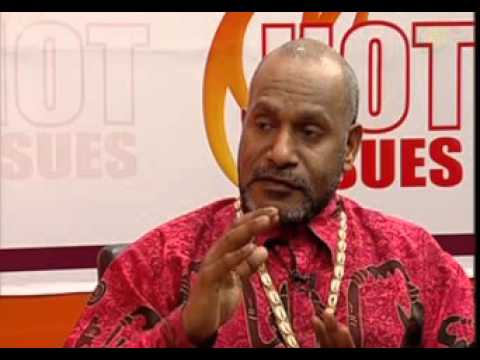 Ghana: Hot Issues - With Chief Benny Wenda, West Papua