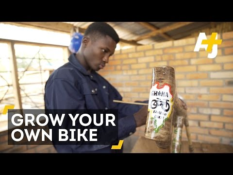 Grow Your Own Bike In Ghana, Ghana's Eco-Friendly Bamboo Bikes