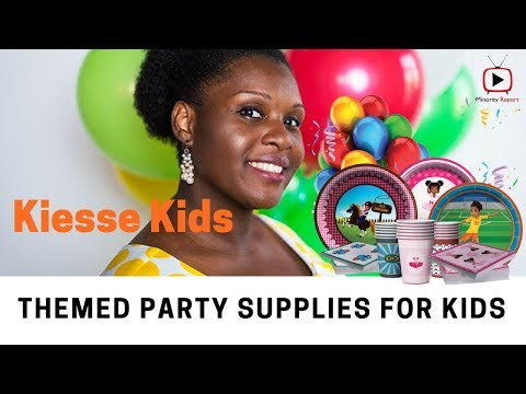 Kiesse Kids, Ethnic and Diverse Party Supplies for Children of Color
