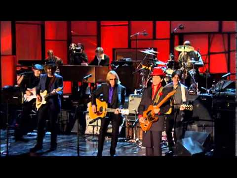 """Prince, Tom Petty, Steve Winwood, Jeff Lynne and others -- """"While My Guitar Gently Weeps"""""""