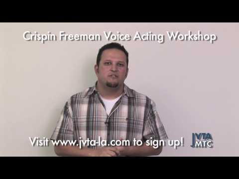 Crispin's Voice Acting Workshop Testimonials, May 2009