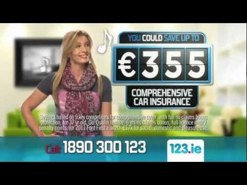 123.ie - Save €355 on you Comprehensive Car Insurance