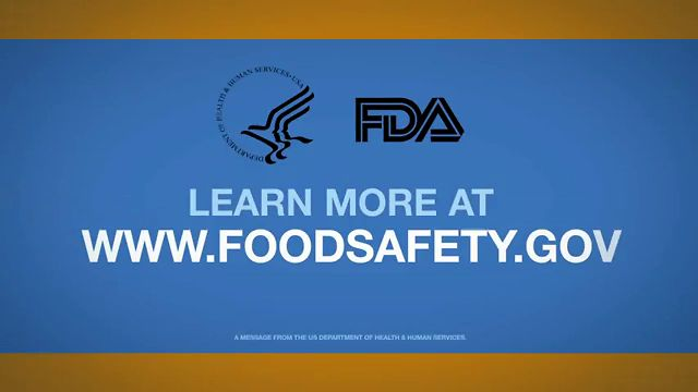 US FDA - Food Safety PSA