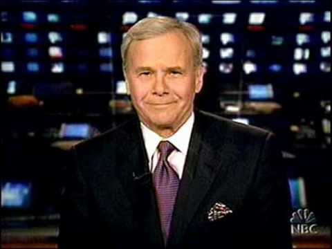 Tom Brokaw answers the phone!