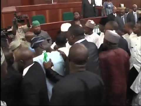 Brawl In The Nigerian House Of Representatives