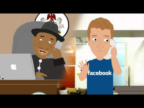 Facebook Cartoon WIth Goodluck Jonathan