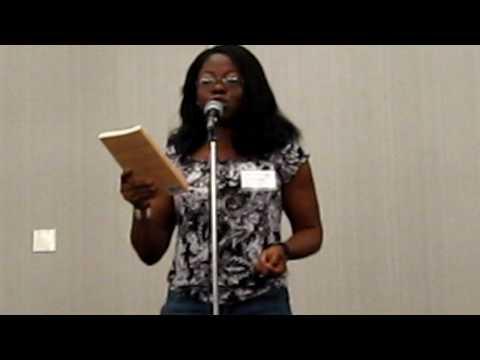 Myne Whitman reading AHTM at LABBX