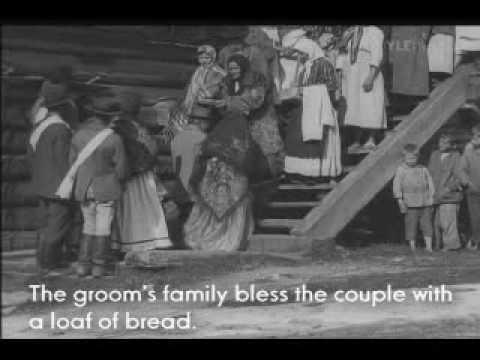 Carelian wedding (1921) - part 3