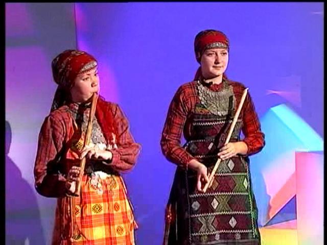 Наигрыши на традиционном удмуртском инструменте УЗИ-ГУМЫ
