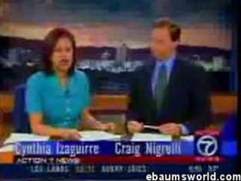 Hilarious News Reporter Bloopers and Out-Takes