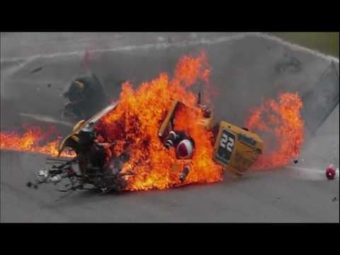 Horrible Crashes: Racecars Splitting in Half