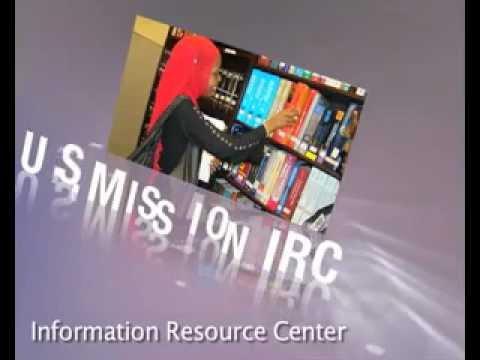 Visit the U.S. Mission Information Resource Center .mp4