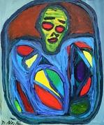 Imprisonment, Acrylic on canvas