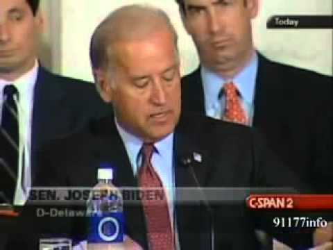 Mind Control - Vice Pres. Joe Biden Talks About Ruling On Micro BioChips
