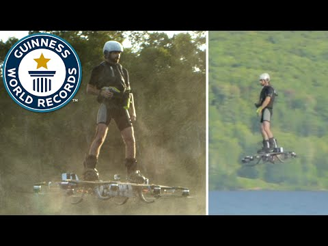 Farthest journey by hoverboard - Guinness World Records