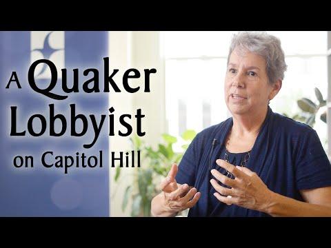 A Quaker Lobbyist on Capitol Hill