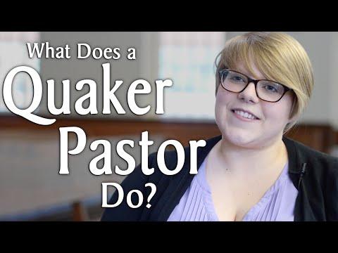What Does a Quaker Pastor Do?