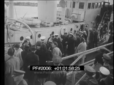 Navy Film of the USS Sqaulus Rescue