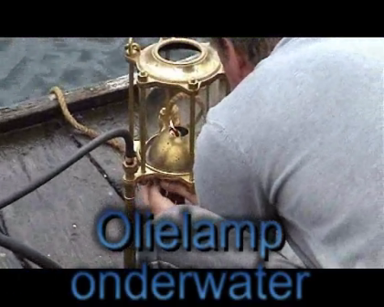 underwater oillamp