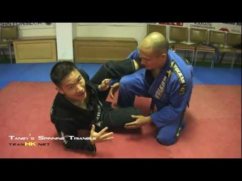 Tangy's Spinning Triangle Choke Set Up
