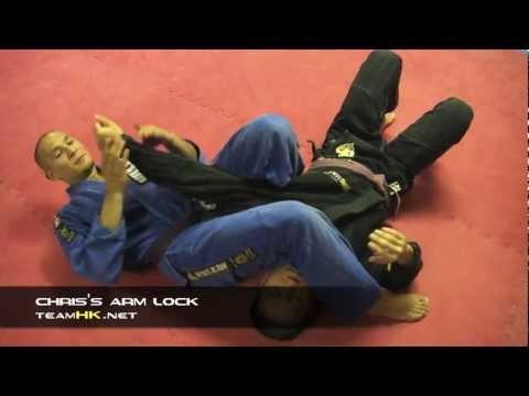 Relson Gracie Jiu-Jitsu Team HK: Chris's Arm Lock
