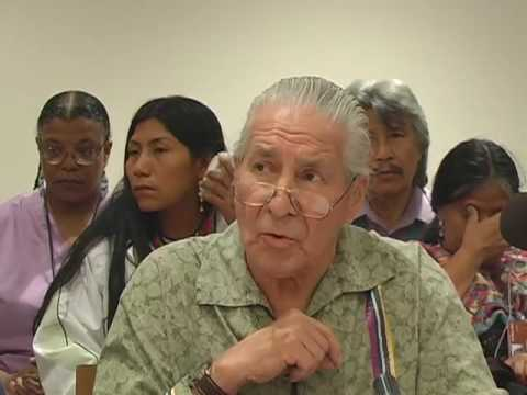 Chief Oren Lyons speaks about Climate Change
