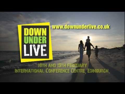 Down Under Live Edinburgh TV Advert