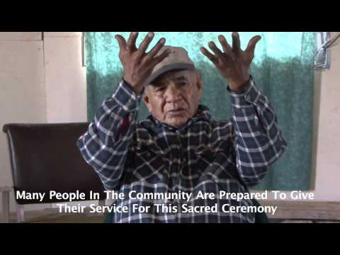Native American Elder Speaks And Calls All Tribes And People Together As One