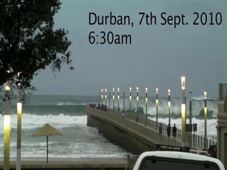 Durban 7 September 2010 swell