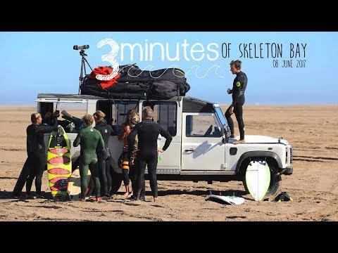 3 Minutes of Skeleton Bay | 08 June 2017 {DJI Mavic Pro + Canon 5d Mark iv}