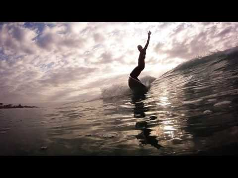 some surfing from Annes Beach, St Francis Bay, south africa
