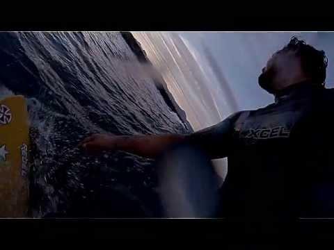 Sunset surf session blues... GoPro3