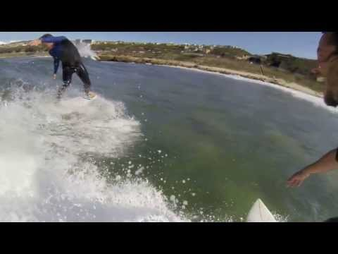 Tinus's 180 into face plant!