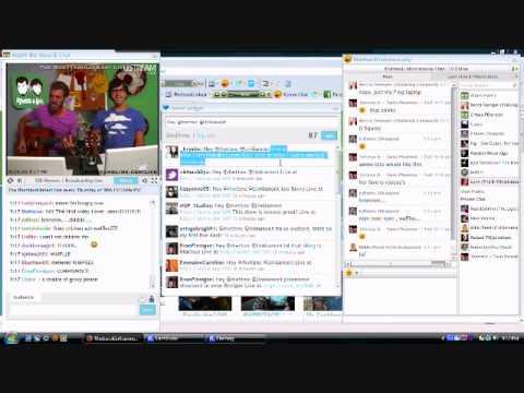 Rhettandlink LiveKast using the Toolbar