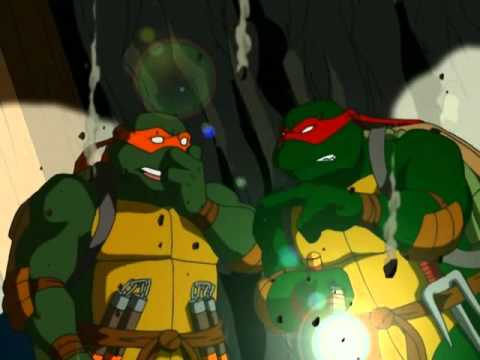 TMNT S01E13 Notes from the Underground Part 1