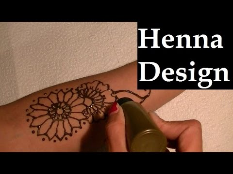 Time-Lapse Henna Tattoo