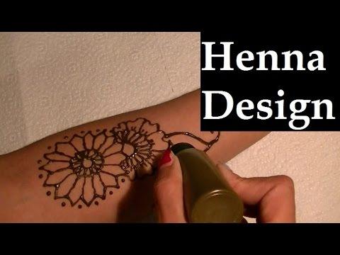 Time-Lapse Henna Tattoo