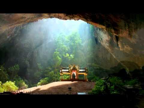 Grotte secrète du Tibet