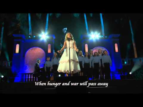 Jackie Evancho Video - To Believe with Lyrics HD