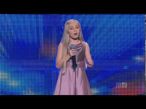 Paris Morgan - Schoolgirl - Australia's Got Talent 2013 - Audition [FULL]
