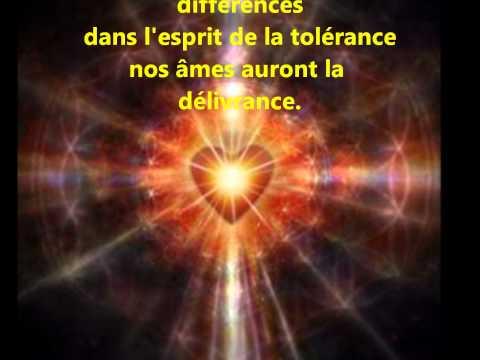 """Poème """"Respect pour la Paix"""" """"Respect for the Peace"""" - Musique : GREGORIAN """"Moment of Peace"""""""