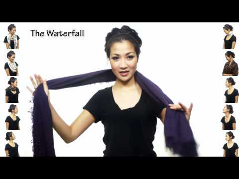 25 Ways to Wear a Scarf in 4.5 Minutes!
