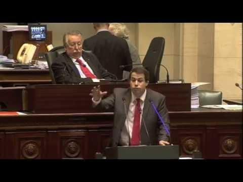 Les «adieux» de Laurent LOUIS au Parlement