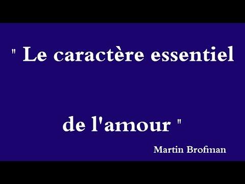 YouTube   Martin Brofman   Le Caractère essentiel de l'amour - A Essencialidade do Amor