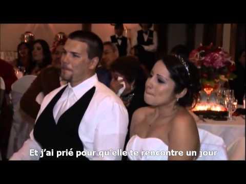 Il voulait faire une surprise à sa fille pour le jour de son mariage… Ils ont tous pleuré !