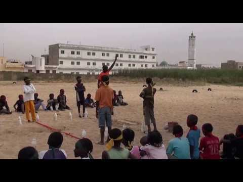 Gym à Dakar a l'école Ainoumady de Keur Massar