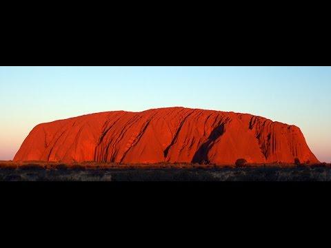 Uluru (Ayers Rock), Australia, sacred Aboriginal rock