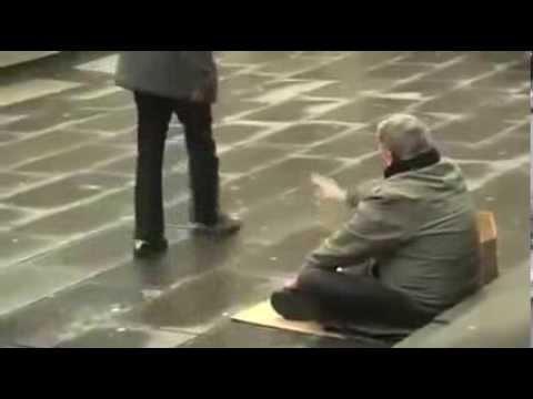 Vidéo triste   EMOUVANTE lecon de vie