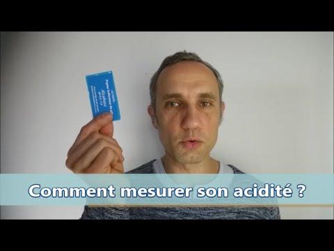 Comment mesurer votre acidité ?