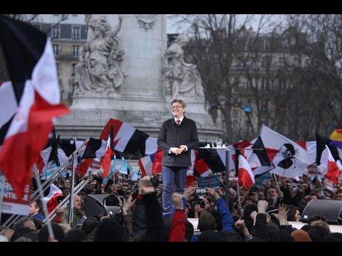 MÉLENCHON : Défilé pour la 6e République - #18mars2017